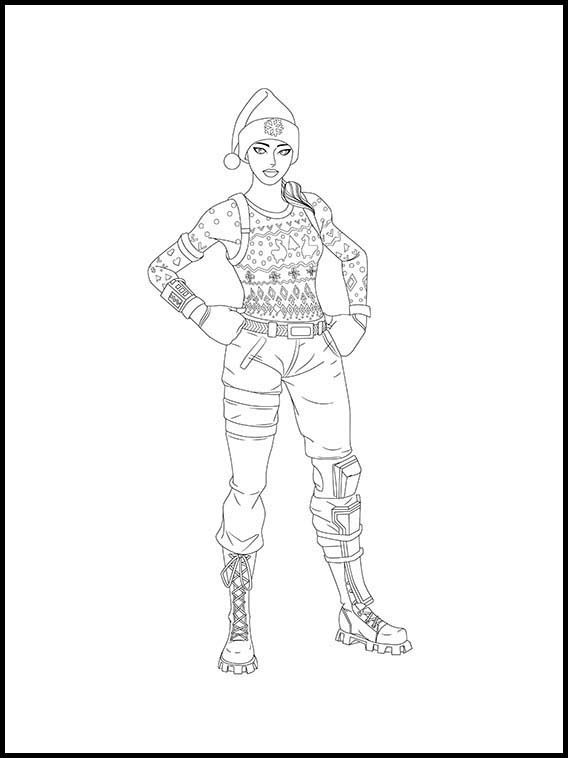 Fortnite 19 Printable Coloring Pages For Kids Coloring Pages For Kids Coloring Books Coloring Pages