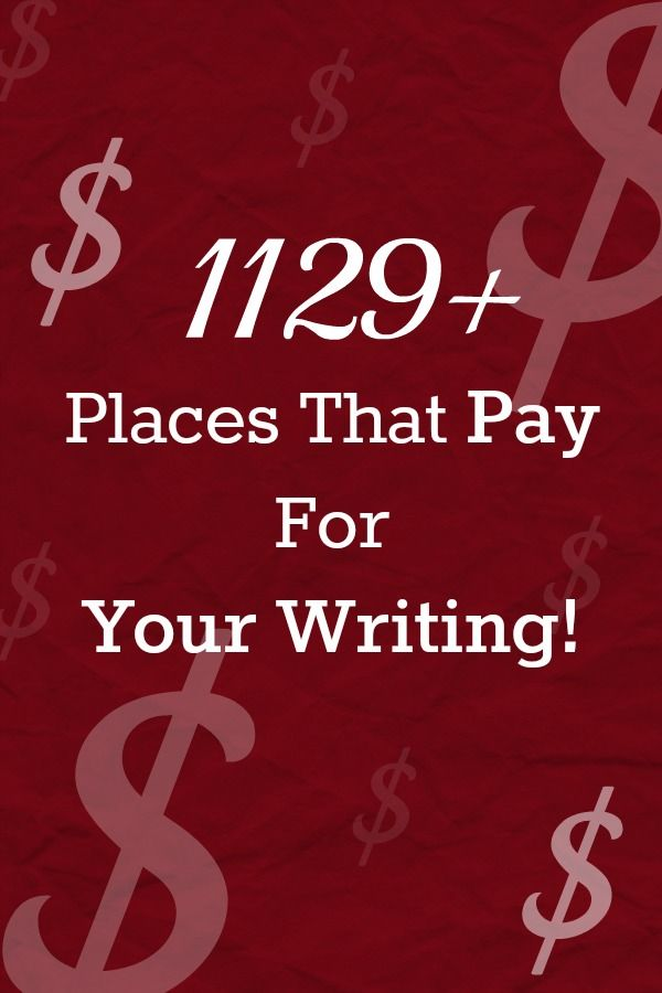 1129+ Places That Pay For Your Writing! - Beyond Your Blog