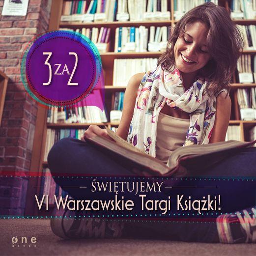 Ruszyły Warszawskie Targi Książki. Z tej okazji w sklepie internetowym Onepress.pl możecie kupić 3 książki lub ebooki w cenie 2.  #onepress #promocja #targiksiazki #warszawa #3za2 #ksiazki #ebooki