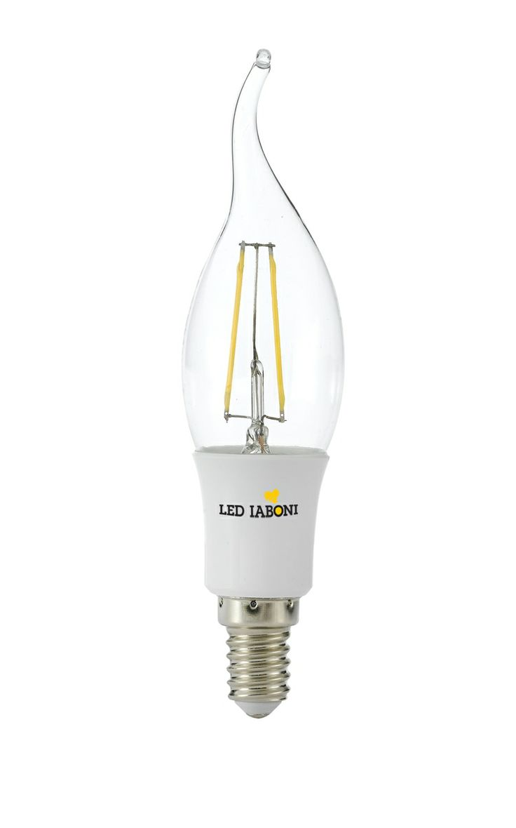 Lampada LED Filament E14 a LED 3W  - 2700K