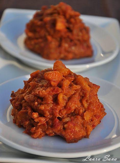 Zacusca de telina si mere | Retete culinare cu Laura Sava - Cele mai bune retete pentru intreaga familie