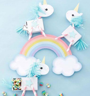 Unicorn gift box from matchbox // Unikornisos ajándék doboz gyufásdobozból // Mindy - craft tutorial collection // #crafts #DIY #craftTutorial #tutorial #BirthdayGifts #DIYBirthdayPartyDecor #BirthdayCrafts #Birthday