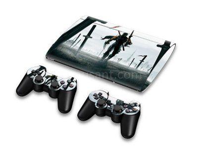 Skin PS3 Super Slim 4000 - Ninja Gaiden