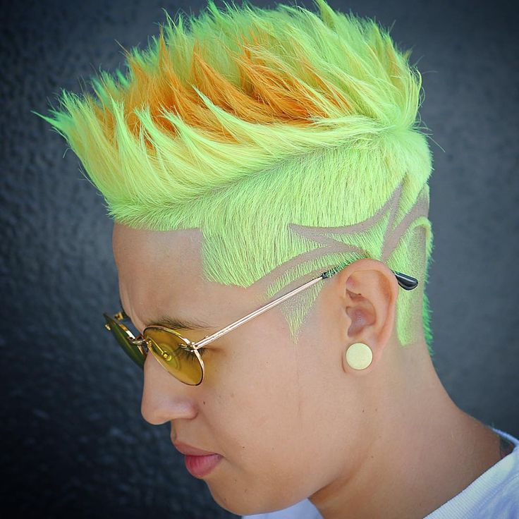 Men's latest hair color