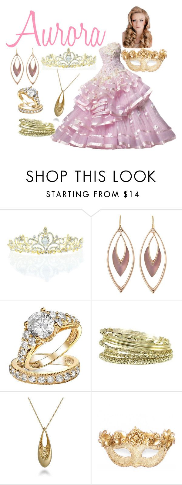 """""""Aurora// Masquerade Ball"""" by not-a-muggle ❤ liked on Polyvore featuring мода, Kate Marie, Alexis Bittar, Bling Jewelry, Erica Lyons, Roberto Coin и Masquerade"""