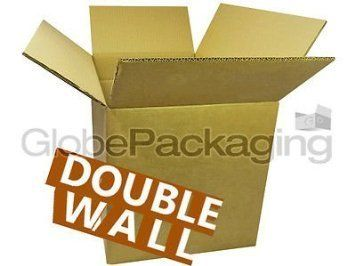 """5 x X-Large Double Wall Cardboard Removal Boxes 24x18x18"""" #Large #Double #Wall #Cardboard #Removal #Boxes"""