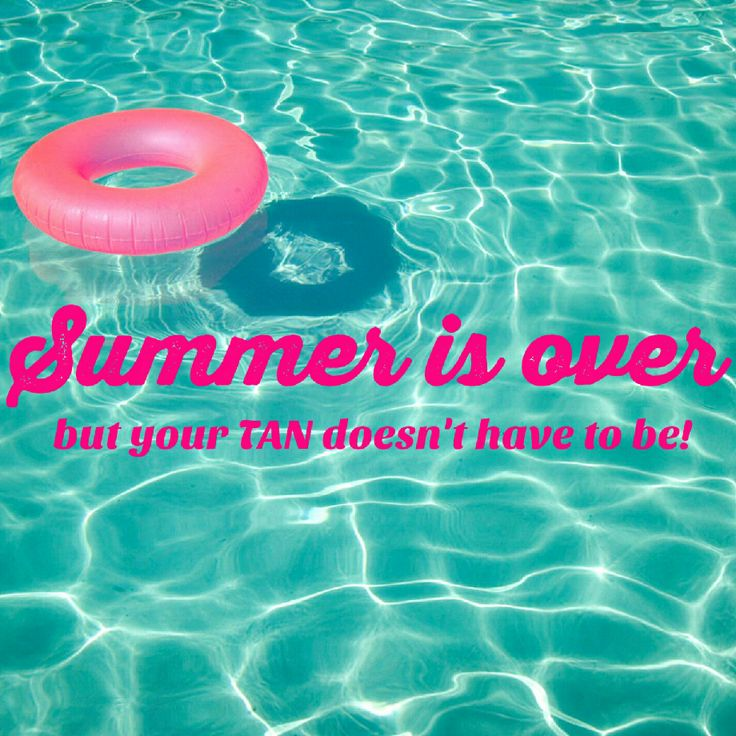 Don't lose you summer tan! - It's sad to say goodbye to summer... but there is no need to lose your tan. We are here for you! Monday, Tuesday and Saturday all Spray Tans at both locations are $10 off! We also have great deals for UV bed tanning. Come see why we are