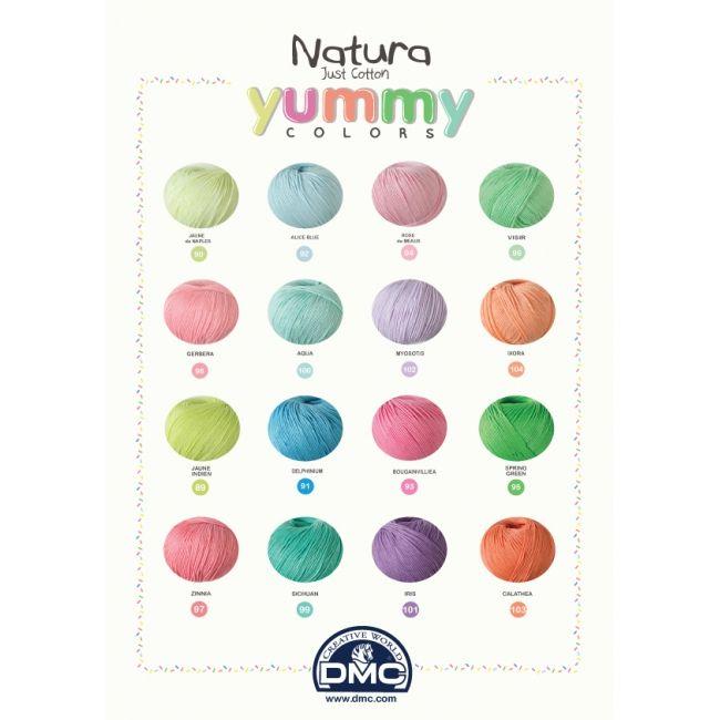 Lote colores Yummy Natura - Natura - DMC