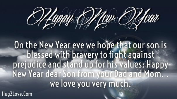 New Year Wishes For Son In Law
