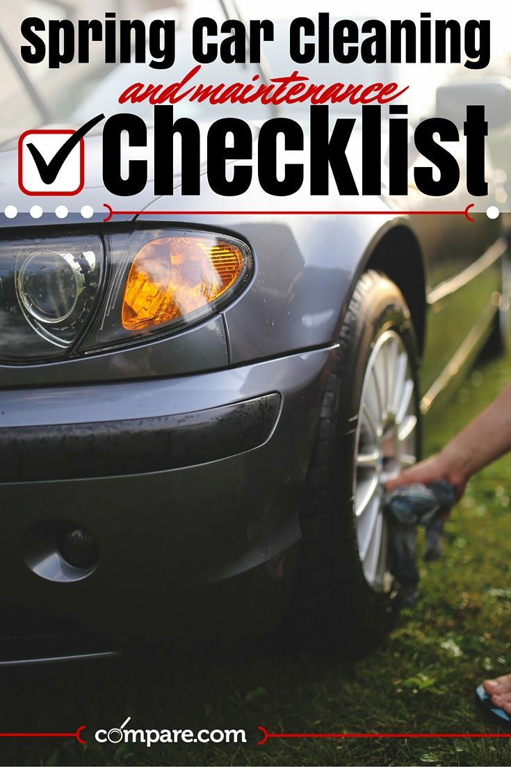 Spring car cleaning maintenance checklist we ve put together a helpful car care list to help you keep your car in tip top shape for spring summer