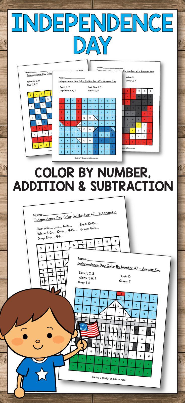 Constitution Day Kindergarten – Constitution Day Math Activities