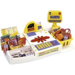 kids grocery checkout toy counter | Casdon 470 Toy Supermarket Checkout: Amazon.co.uk: Toys & Games