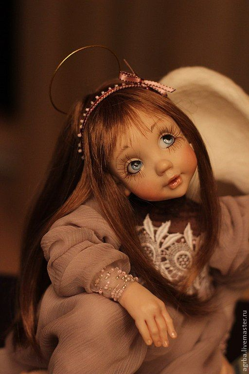 angel doll prosculpt polymer clay by Timofeeva Olga