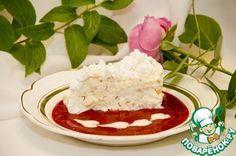 Охлажденный торт из раскрошенного безе с хрустящей начинкой из лесного ореха