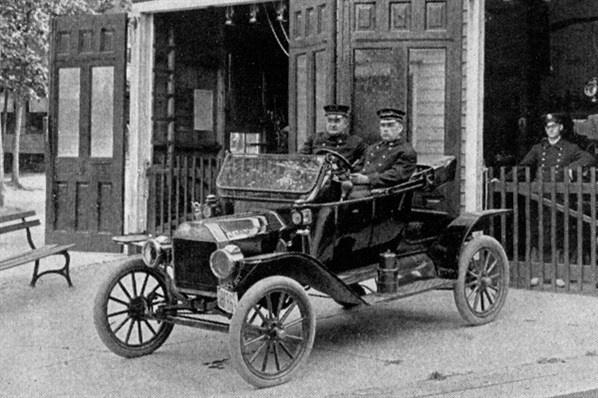 Model T police car