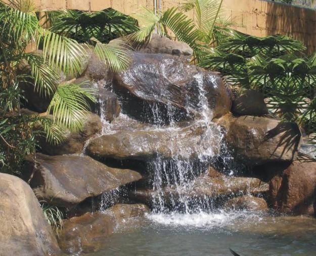 Como hacer cascadas artificiales - Imagui