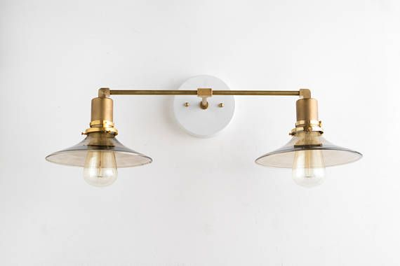 Modern Vanity Light - Bathroom Lighting - Wall Fixture - Mid Century Modern - Bathroom Fixtures - Mirror Lamp Greetings! My name is Jay Harrison and Im the lighting designer here at Mod Creation. I lead a small team of talented craftsmen with over 15 years of experience in