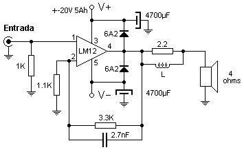 Se presenta este amplificador, de fácil construcción , apto para uso general, pero sobre todo, para un bajo, debido a que puede amplificar s...
