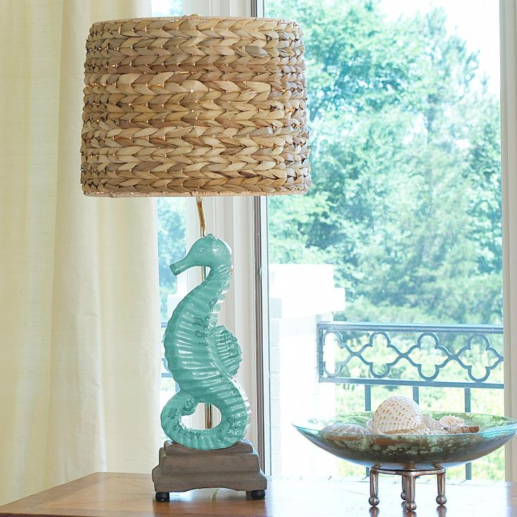 A possibility for a table lamp in the Hawaiian themed bedroom
