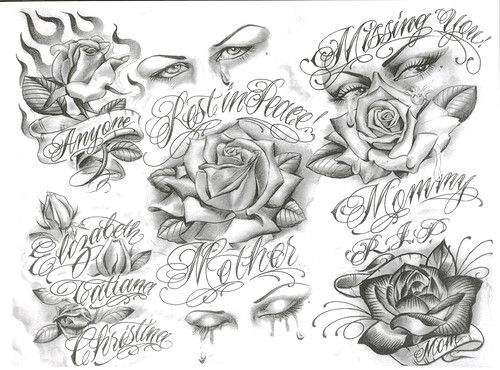 Chicano tattoo; love the ink but not the placement. Description from pinterest.com. I searched for this on bing.com/images