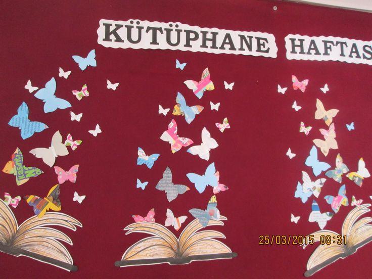 kütüphane haftası Rotary Yeşiltepe ortaokulu