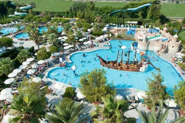Top five-star resort hotels in Side