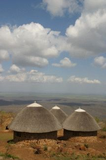 Shewula Mountain Camp - Swaziland. Perched atop the Lubombo Mountains, just 20 minutes from the Lomahasha  border post with Mozambique in the far north of the Lubombo Route, is the  incomparable Shewula Community Reserve and Mountain Camp.
