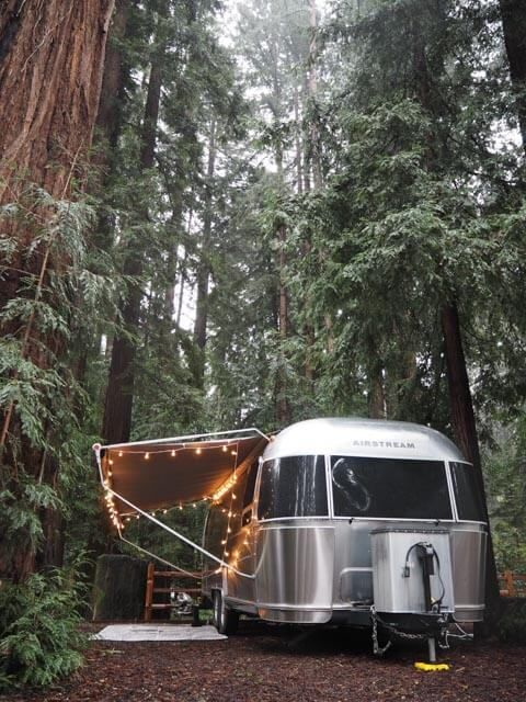 Hands down, one of the best places to take an Airstream in the SF Bay Area  is Santa Cruz Redwoods RV Resort.  There's nothing quite like living among  some ancient giant trees to make you forget about city life.  These  breathtaking redwoods emanate a special energy that you really can't feel  anywhere else.  Yet, you don't have to drive hours into the forest to get  away.  This park is a quick 35 minute drive from the Elite RV shop (and  thus also a perfect place for those who want to get…