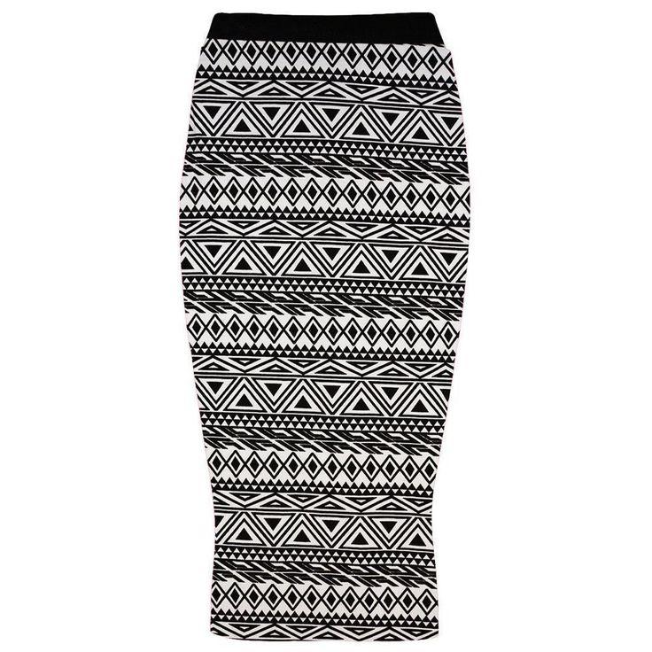 Avec Impression Pour Dames Taille Élastique Crayon Moulant Extensible Jupe Midi | eBay à : 11.81 ttc