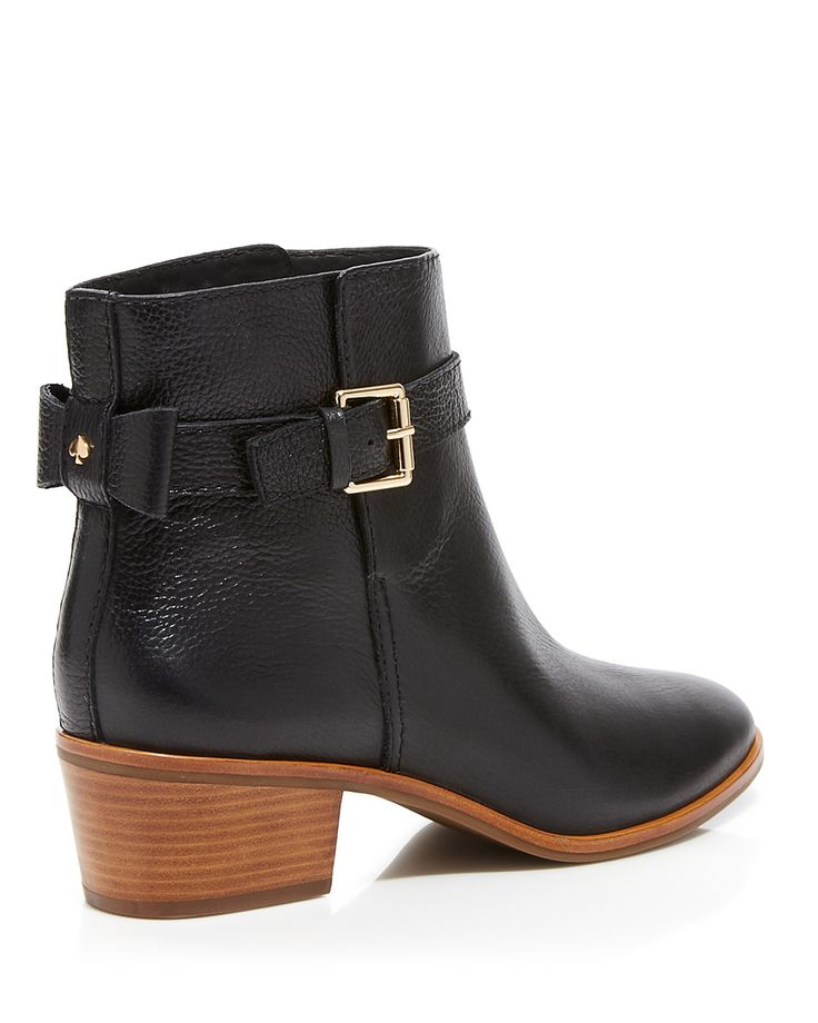 16d53e98b27a kate spade new york Ankle Booties - Taley Bow Back