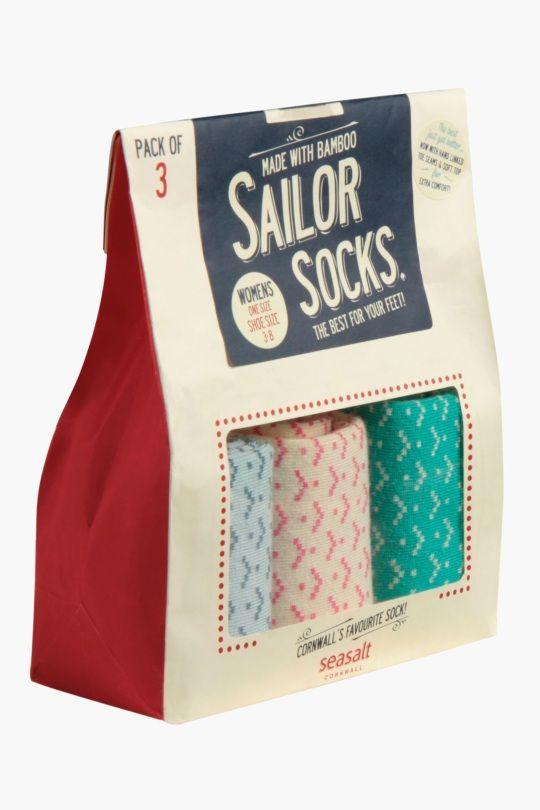 Sailor Socks Gift Bag O'3