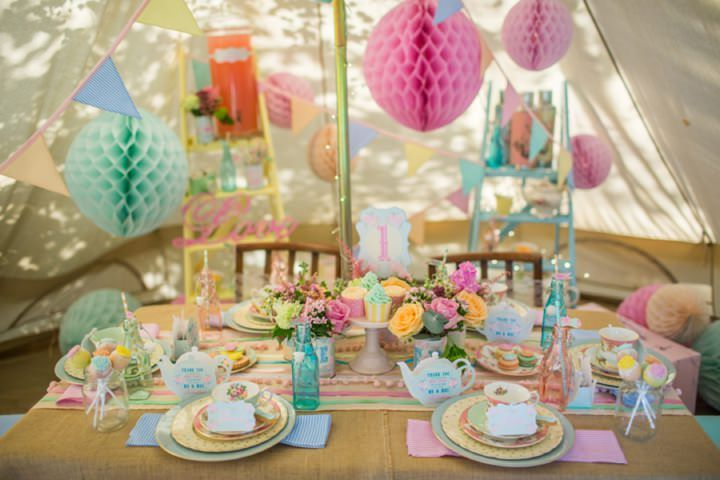 Dreamy Pastel Glamping Wedding Inspiration From Chateau Dandy