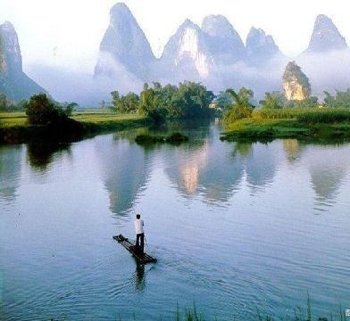 China , Karst mountains
