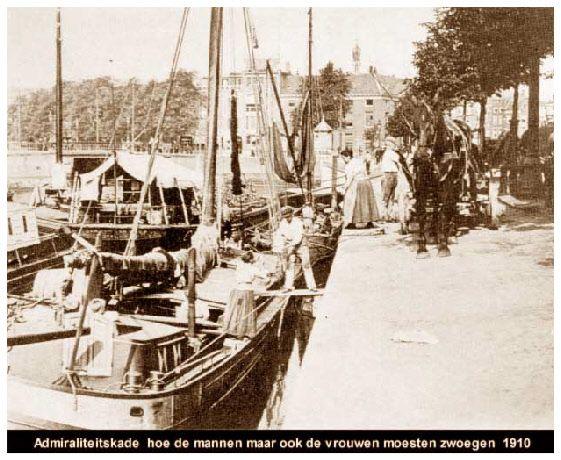Admiraliteitskade in 1910.