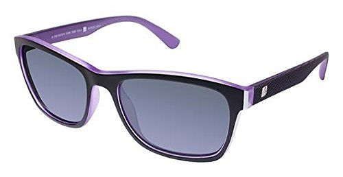 Sperry Top-Sider LONG BEACH Sunglasses - Frame BLACK / PURPLE, Lens Color Grey Mirror. Buy with confidence! Authorized Retailer. Authenticity Guaranteed. Full retail package with all accessories.