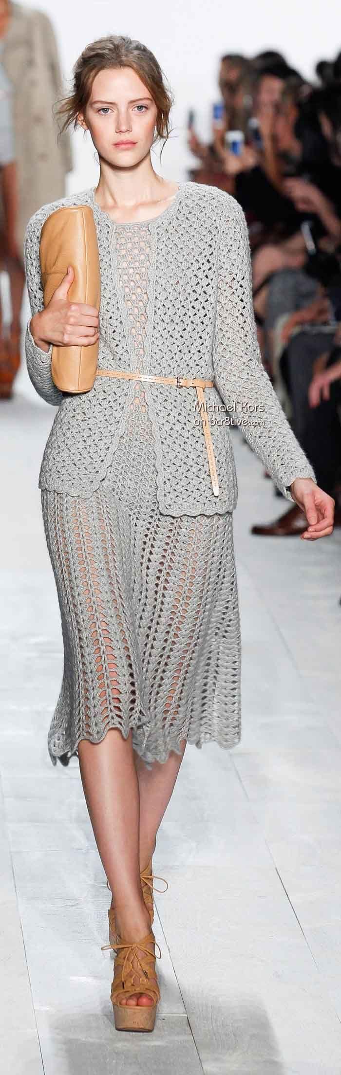 Michael Kors Spring 2014 - Crochet Fashion