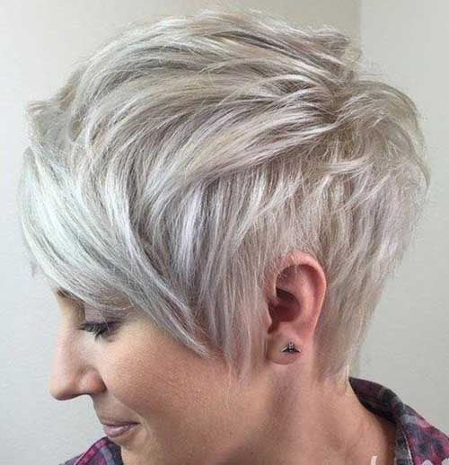 Spectacular Layered Short Hair Ideas for Ladies…