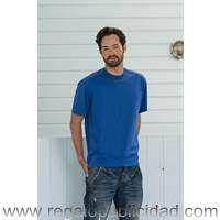 Camisetas Workwear Russell personalizadas con el logo de su empresa, baratas, para regalos de empresa, eventos, campañas de marketing y publicidad