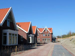 Nieuw Koningsduin: new housing on care estate Duin en Bosch in Castricum. Landscape vision by Vollmer & Partners