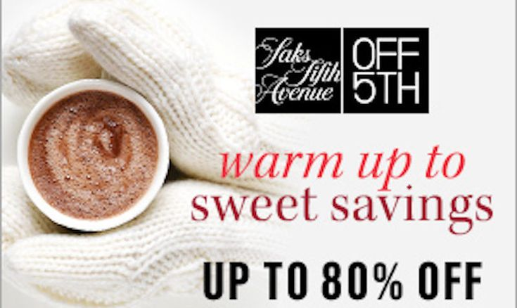 Upto 80% OFF Promo Code on at OFF5th Saks Fifth Avenue - EDEALO