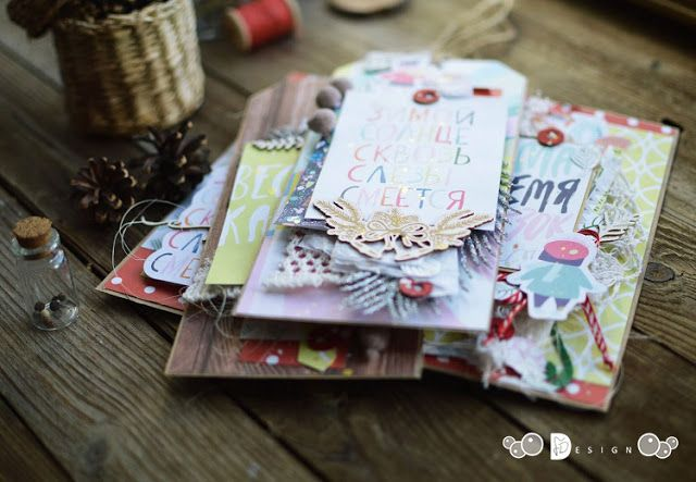 workroom by [Teri Lin]: Новогодние тэги и открытки