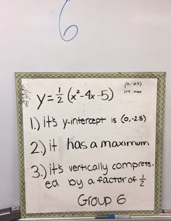 8 is my lucky number: Two Truths and a Lie: Quadratic Style