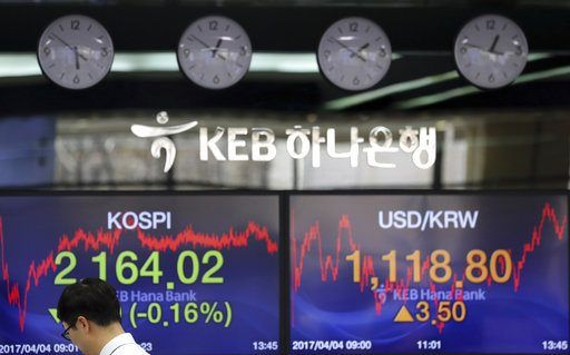 SEOUL, South Korea/April 4, 2017 (AP)(STL.News) — Asian stock markets were mostly lower on Tuesday after disappointing U.S. car sales data contributed to a bleak day on Wall Street. Investors are cautiously awaiting President Donald Trump's meeting...