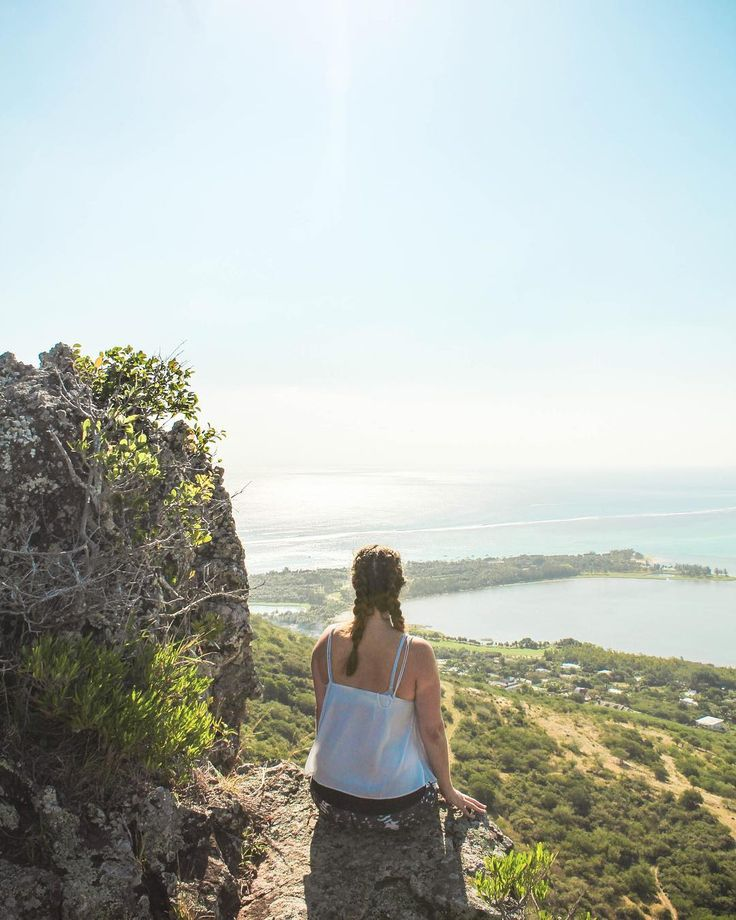 Take adventures to see the world from new perspective  #mauritius #wanderlust #adventure