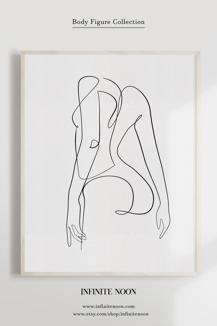 Female One Line Illustration Minimalist Woman Drawing Print Etsy In 2020 Abstract Line Art Illustration Wall Art Drawing Prints
