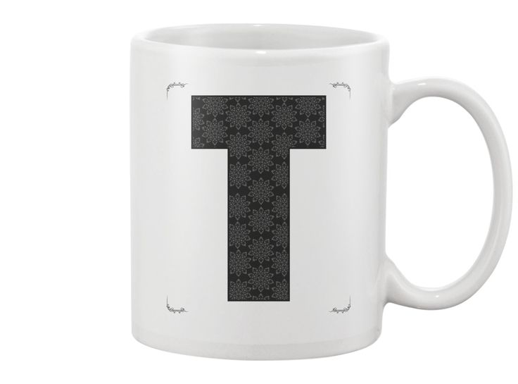 T letter - Mug
