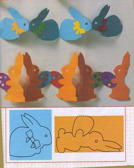 Easter garland