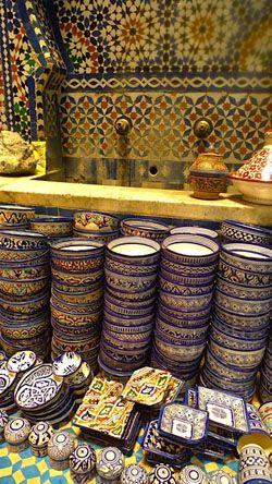 Morocco plates  | Maroc Désert Expérience | http://www.marocdesertexperience.com
