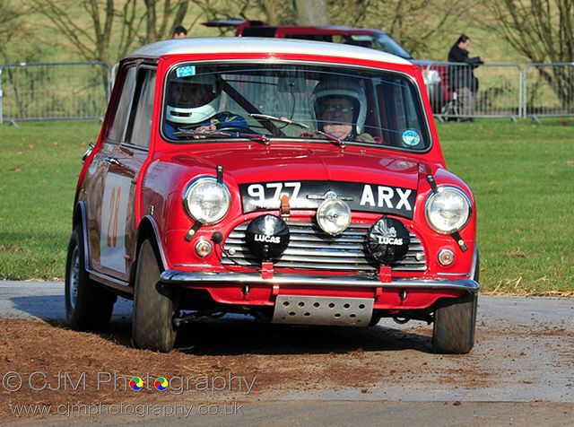 977 ARX .. 1962 RAC Rally 997cc Cooper , driven by R.Aaltonen / T.Ambrose , finished 5th o/a & 1st in class .
