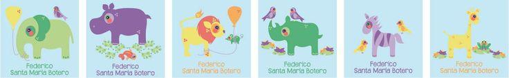 Tarjetas Personales para Niños!!!